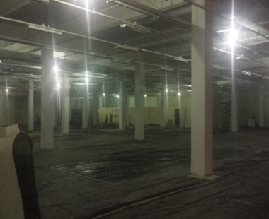 Implantação completa de uma loja de material de construção da rede C&C, no Américas Shopping