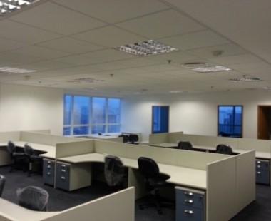 Reforma geral do prédio administrativo da GVT em São Paulo (edifício Igarassu)