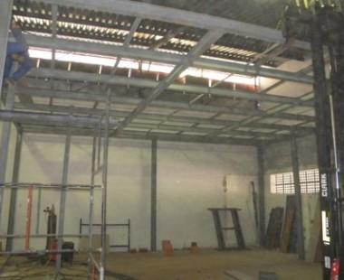 Adequação de galpão existente para as instalação de uma unidade da GVT em Chapecó